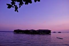 Hotell på havet Royaltyfri Bild
