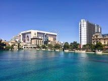 Hotell på Las Vegas Boulevard Arkivbild