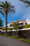 Hotell på stranden (Tenerife) Fotografering för Bildbyråer