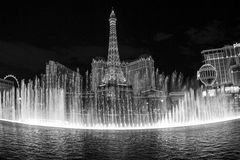 Hotell Paris i Vegas Royaltyfri Bild
