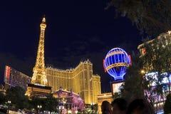 Hotell Paris i Vegas Royaltyfria Bilder