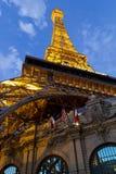 Hotell Paris i Vegas Fotografering för Bildbyråer