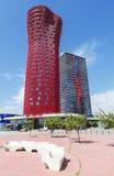 Hotell Porta Fira, Barcelona Royaltyfria Foton