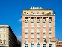 HOTELL SINA BERNINI BRISTOL Piazza Barberini Rome Arkivbild