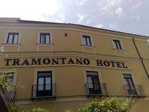 Hotell Tramontano Sorrento Royaltyfri Bild