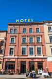 Hotell Trzy Korony Arkivbild