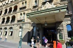 Hotell Windsor - Melbourne Royaltyfri Fotografi