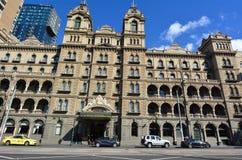 Hotell Windsor - Melbourne Royaltyfri Bild