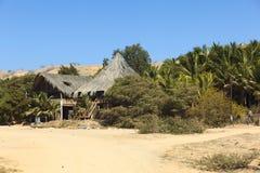 Hotella Posada in Mancora, Peru Royalty-vrije Stock Foto's
