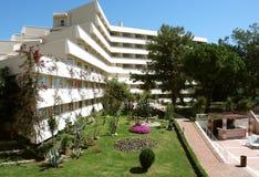Hotellbyggnad. royaltyfri fotografi