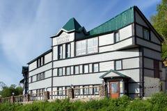 Hotellchef av Kamchatka i den Petropavlovsk-Kamchatsky staden Ryska Far East royaltyfri bild