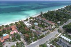 HOTELLCOCO LAPALM NEGRIL JAMAICA Arkivbilder