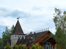 Hotellet är i Sergiev Posad Royaltyfri Foto
