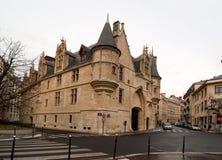 Hotellet de Sens i Paris, Frankrike royaltyfria bilder