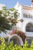 Hotellet, Egypten Fotografering för Bildbyråer