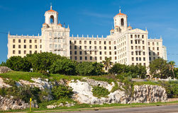 Hotellet Nacional i Havana Arkivfoto