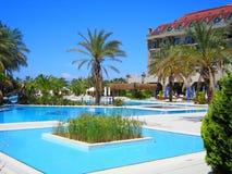 Hotellet Nashira i Turkiet Arkivfoton