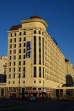 Hotellet PARKERAR GÄSTGIVARGÅRDEN i Astana Royaltyfria Bilder