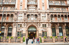 Hotellet Russell i London Fotografering för Bildbyråer