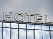 hotellfönster Royaltyfria Foton