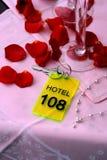 hotellförälskelse Royaltyfri Fotografi
