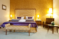 hotellinteriorlokal Arkivfoto