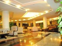hotellinteriorlyx Arkivfoto