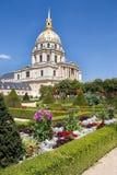hotellinvalides paris för des france Royaltyfria Bilder