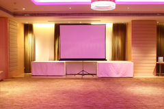 Hotellkonferensrum Arkivfoton