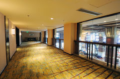 Hotellkorridor Arkivfoton