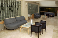 hotelllobby Royaltyfri Foto
