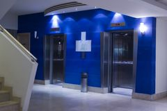 hotelllobby Arkivbild