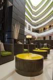Hotelllobby och vardagsrum Royaltyfria Foton
