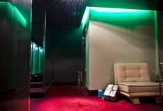 hotelllobby s Royaltyfri Bild