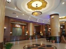 Hotelllobby, toppmötehotell USJ Royaltyfri Fotografi