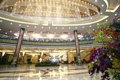 Hotelllobbyen Arkivfoto