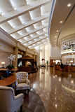 hotelllobbylyx Royaltyfri Foto