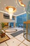 hotelllobbylyx Arkivfoton