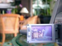 hotelllobbyskytte Arkivbild