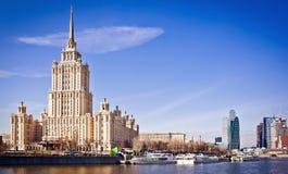hotellmoscow flodstrand ukraine Fotografering för Bildbyråer