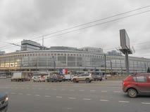 HotellMoskva i St Petersburg Fotografering för Bildbyråer