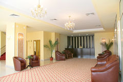 hotellmottagande Arkivfoton