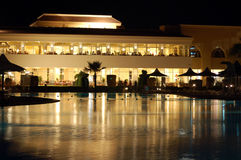 hotellnatt royaltyfri foto