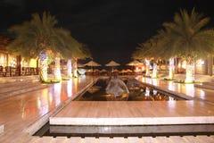 hotellnattstycke Royaltyfri Fotografi