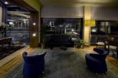 Hotellobby stockbild