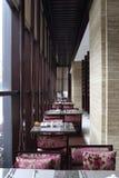 Hotellobby bar der chinesischen Art stockfotografie