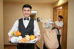 Hotellpersonal royaltyfria foton