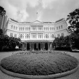 hotellraffles fotografering för bildbyråer