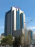HotellRAMADA i Astana/Kasakhstan Royaltyfri Bild