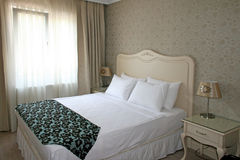 hotellrum Royaltyfria Bilder